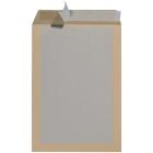 Koperty wysyłkowe, jednostronnie usztywnione kartonem, brązowy, C4