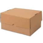 Kartony nakładane, brązowy, 605x398x150mm