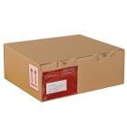 Kartony pocztowe brązowy, 270x160x70mm