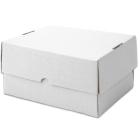 Kartony nakładane, biały, 351x246x50mm