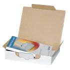Kartony pocztowe biały, 220x155x44 mm